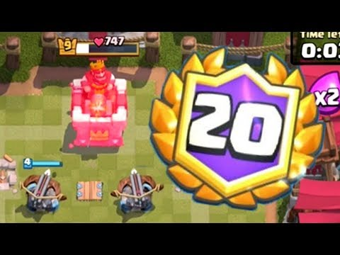 MAKING PEOPLE QUIT THE 20 WIN CHALLENGE   Clash Royale