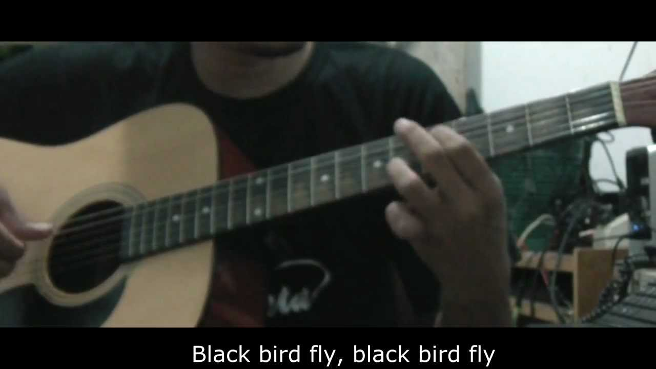 blackbird the beatles how to play acoustic guitar youtube. Black Bedroom Furniture Sets. Home Design Ideas