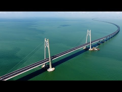 Crossing an Ocean: The Hong Kong-Zhuhai-Macau Bridge | The B1M