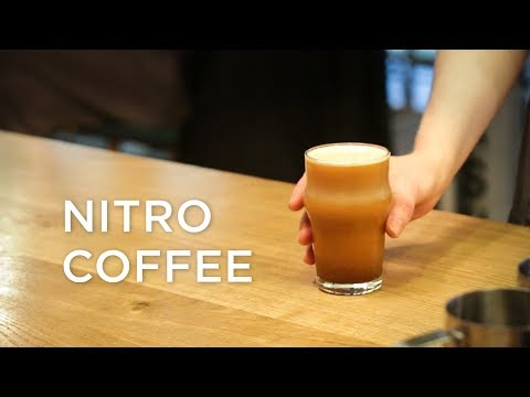What is Nitro Coffee and how they make it at Happy Baristas?