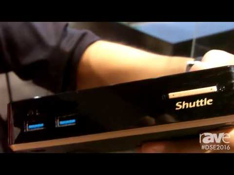 DSE 2016: Shuttle Computers Showcases 4K Media Players