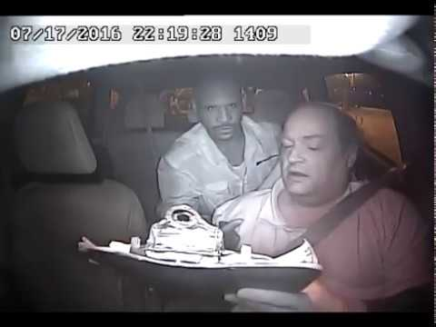 Taxi Driver Getting Strangled & Robbed