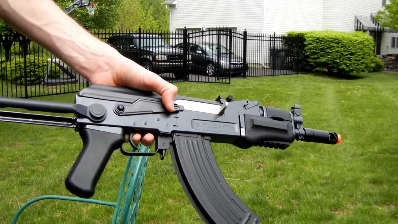 Crosman Pulse R76    Utg Ak47 Commando Review