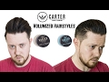 Men's hair 2017 I High Volume Hairstyles I Carter Supply Co. Clay and Pomade Review