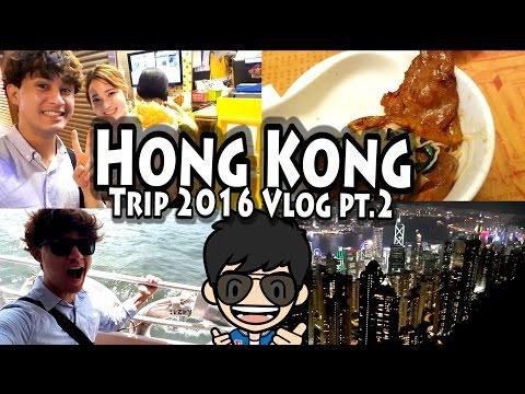 Hong Kong Vlog 2016 Part 2:  Star Ferry, Tai Cheong Bakery, SoHo , Victoria Peak