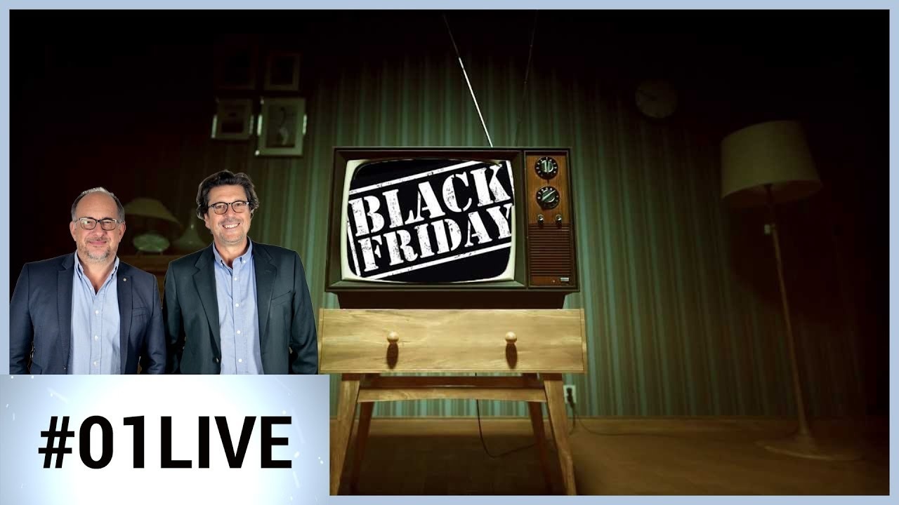 Black Friday : les meilleures offres et les pièges à éviter - 01LIVE HEBDO #206