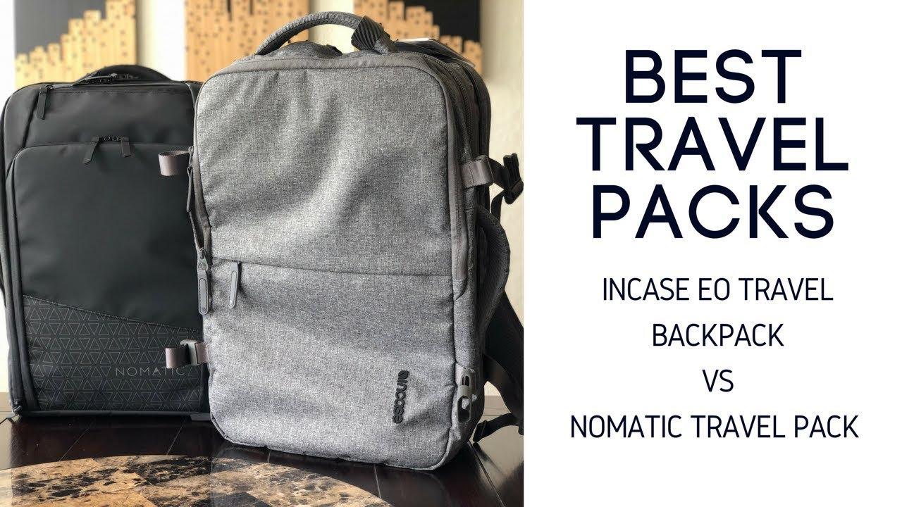 ad76f5ed17 Best Travel Pack Comparison  Incase EO Travel Backpack vs Nomatic Travel  Pack