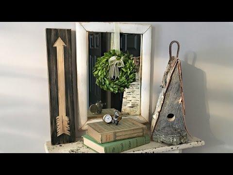 Arrow Sign Decoration - DIY Home Decor - Rustic Decor