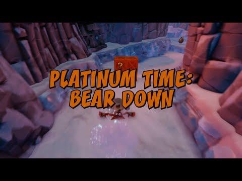 Bear Down Platinum Time