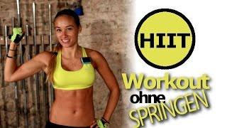 Abnehmen mit Training Zuhause - Workout für Anfänger und Fortgeschrittene - HIIT ohne Springen