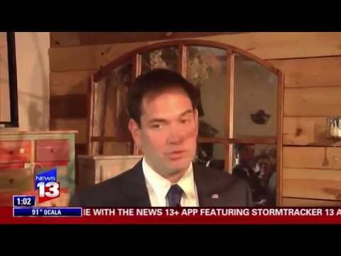 Senator Rubio Visits Orlando Small Businesses Impacted By Pulse Attack