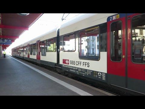[Genève] Stadler Flirt - Gare Cornavin