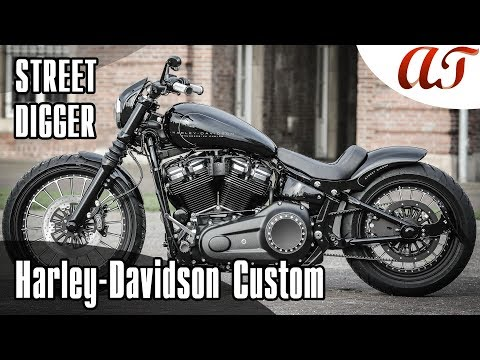 Harley-Davidson STREET BOB Custom: STREET DIGGER * A&T Design