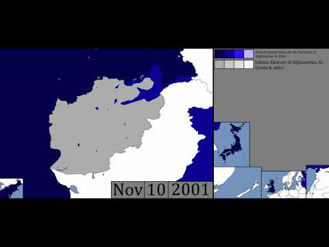 US Invasion of Afghanistan - War in Afghanistan - Every Day (2001)