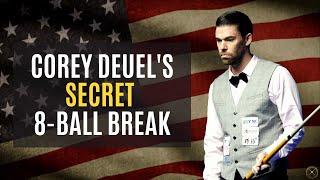 Corey Deuel's SECRET 8-Ball Break Explained