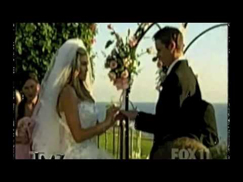 Deal or No Deal's Lindsay Clubine dazzles in a Pol' Atteu wedding gown!