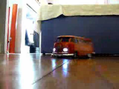 Rc Auto Volkswagen Samba Bus 1 10 Youtube