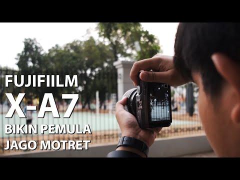 Mirrorless Asik Buat Anak Muda Instagram   Review Fujifilm X-A7 Indonesia