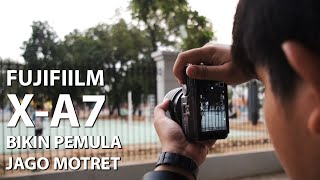 Mirrorless Asik Buat Anak Muda Instagram | Review Fujifilm X-A7 Indonesia