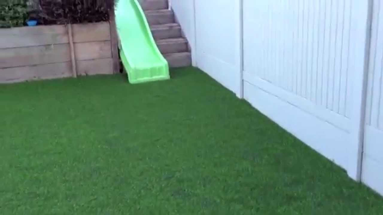 Typical Back Garden Transformation With Artificial Grass Youtube