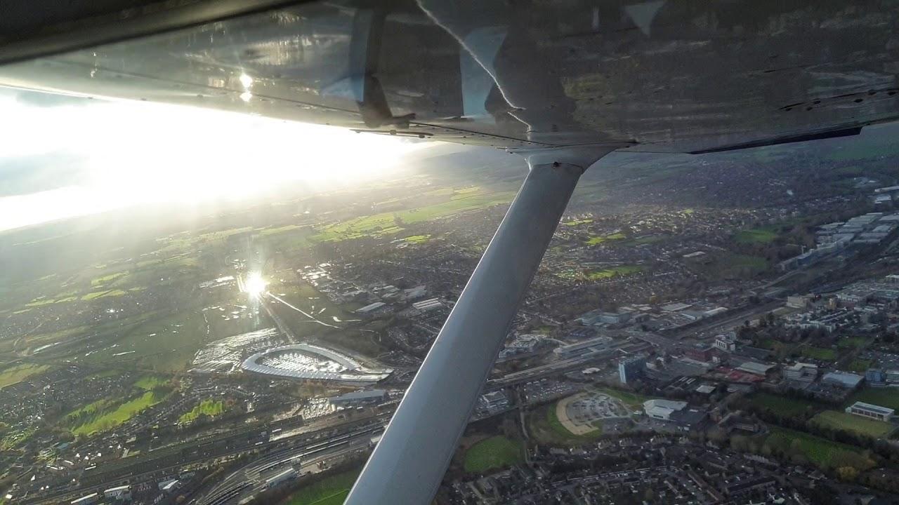 Download Flying over Ashford
