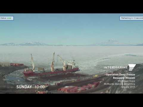 Ocean Giant, McMurdo Station Antarctica - Annual Resupply