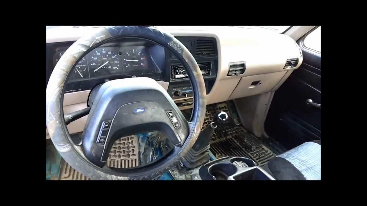 1992 Ford Ranger 4X4 - YouTube
