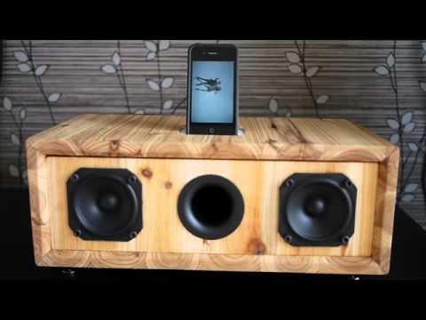 DIY IPhone Dock Speaker - YouTube