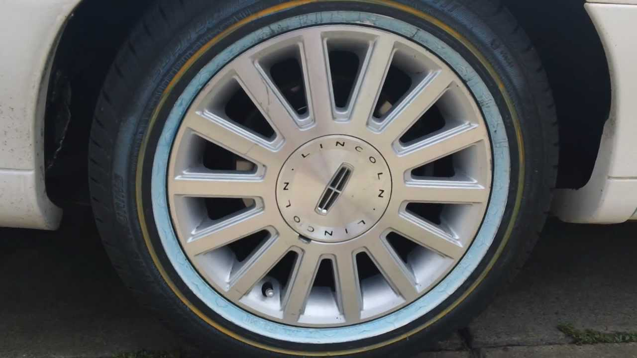 Brand New Vogue Tyre Lincoln Town Car Youtube