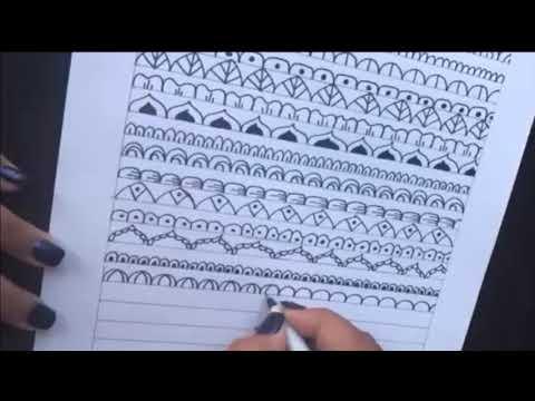 Como hacer mandalas: 20 ideas faciles para tus mandalas!   How to draw Mandalas: 20 easy ideas