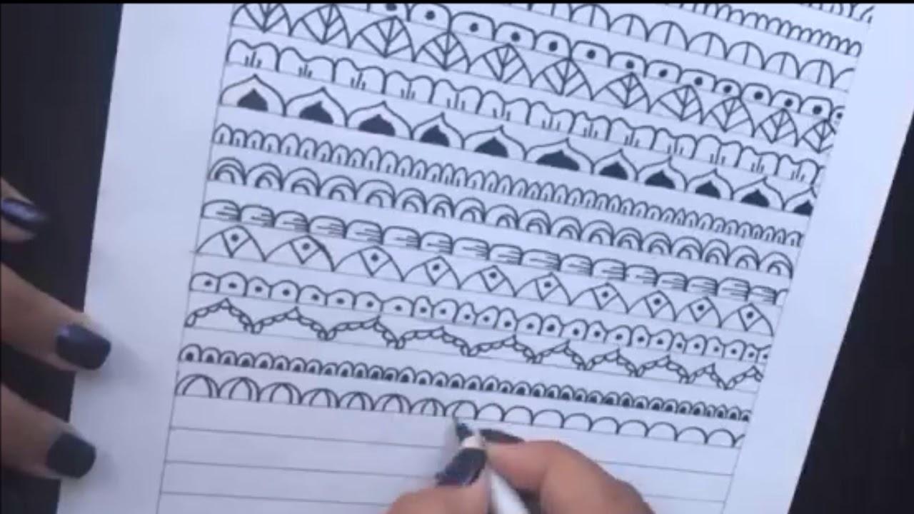 Como hacer mandalas 20 ideas faciles para tus mandalas how to draw mandalas 20 easy ideas - Mandala facile ...