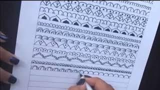 Como hacer mandalas: 20 ideas faciles para tus mandalas! | How to draw Mandalas: 20 easy ideas