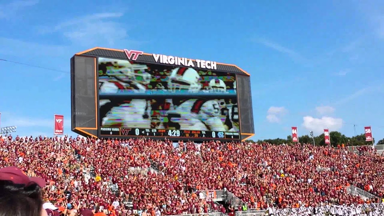 Most intimidating college football entrances