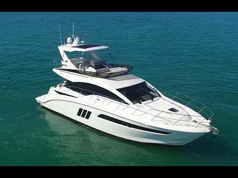 2017 Sea Ray Fly 510 Yacht For Sale at MarineMax Miami