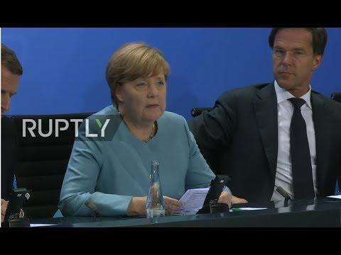 LIVE: Merkel hosts European leaders meeting ahead of G20 ...