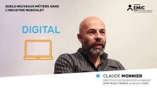 Interview EMIC | Claude Monnier, DRH Sony Music France (1)