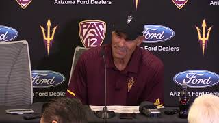 Coach Edwards Post-Game Media Availability | Football vs Stanford