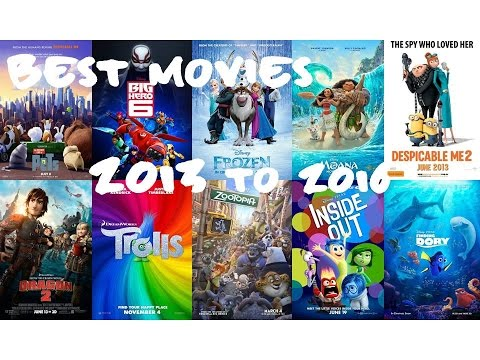 My Top 10 Best Animation Movies 20132016