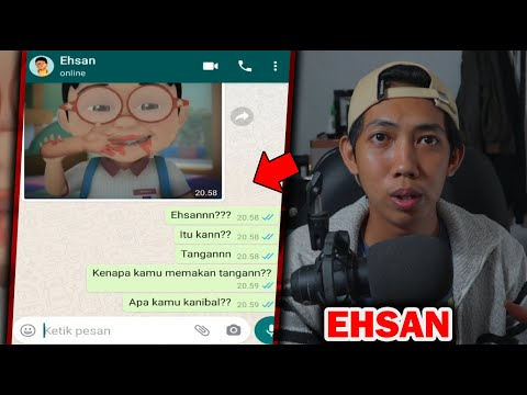 EHSAN MEMAKAN SEMUANYA(UPIN)😱| CHAT HISTORY HORROR INDONESIA