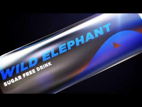 Packaging Design, Wild Elephant Energy Drinks, Sri Lanka
