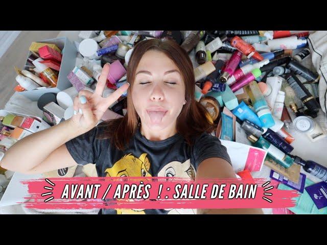 AVANT/APRÈS #1 : MA SALLE DE BAIN