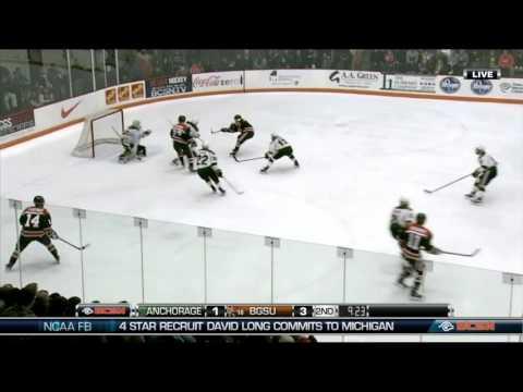 Anchorage Alaska at Bowling Green WCHA Hockey