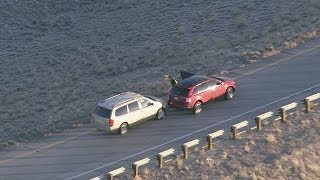 Raw Video: Carjacking in Amber Alert Chase