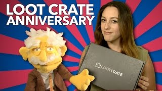 Loot Crate Anniversary Unboxing - with MadicalSays