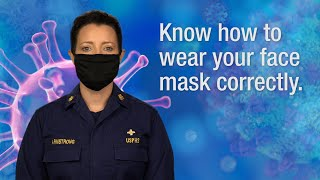 Know How to Wear Your Face Mask Correctly