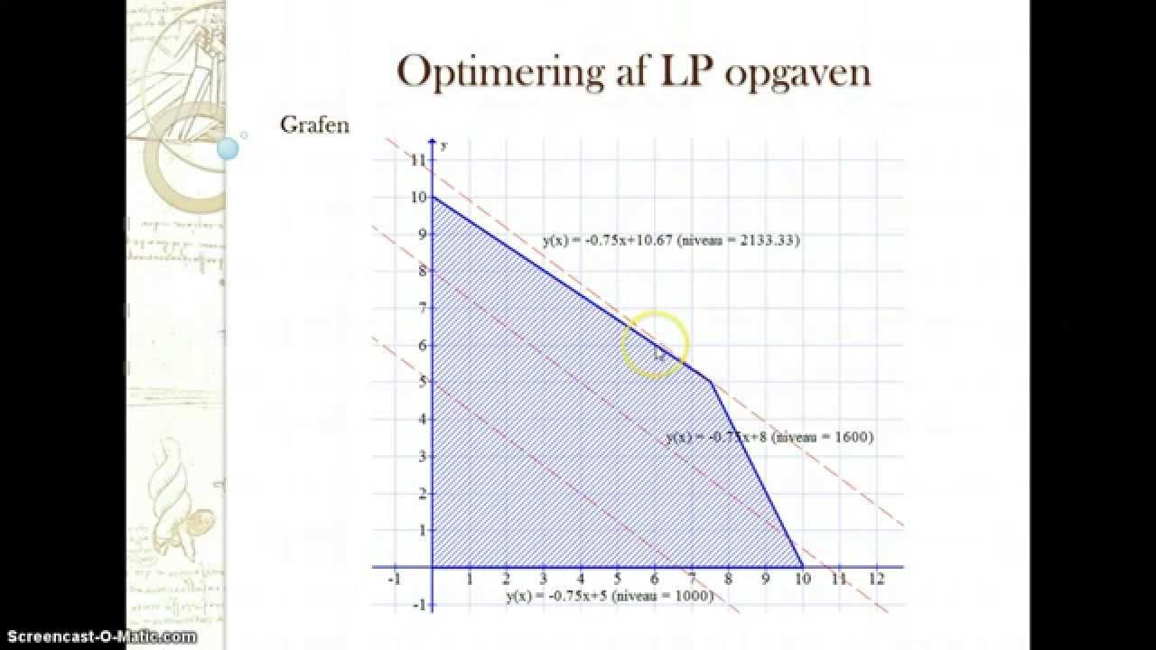 Lineær Programmering lobe