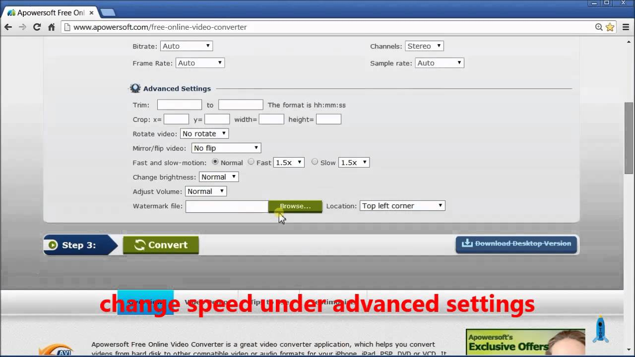 How to change video speed youtube how to change video speed ccuart Image collections