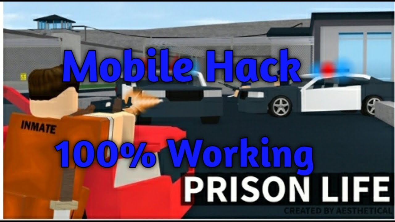 How To Hack Roblox Prison Life Mobile Youtube