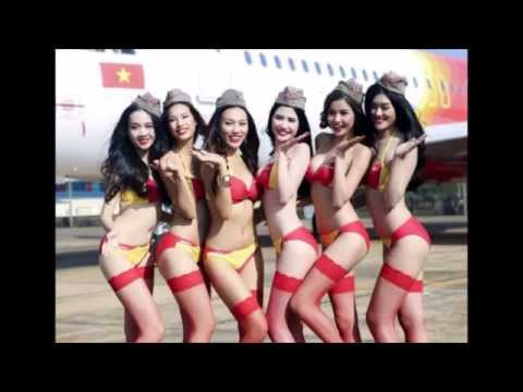 VietJetAir Bikini Girls Marketing Campaign