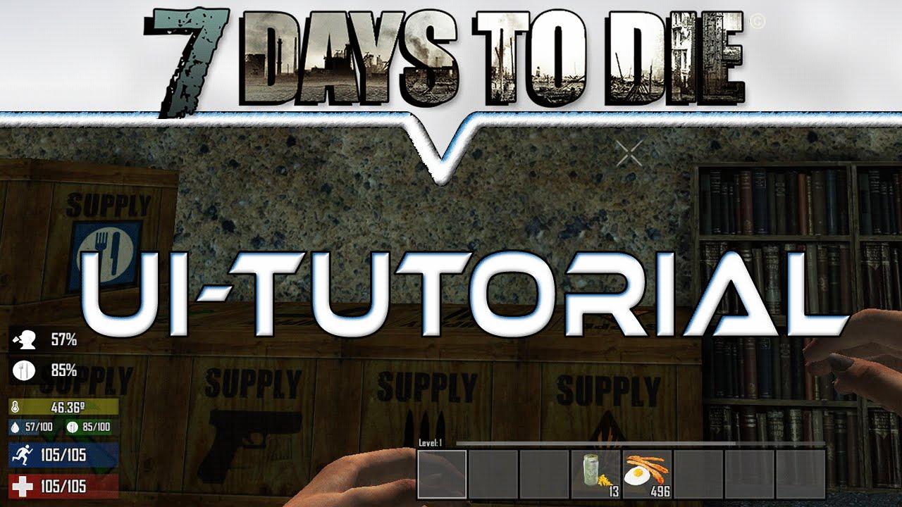 7 Days To Die Alpha 13 164 Mod Für Essen Trinken Temperatur